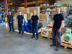 Apprentices in PG Flow Solutions