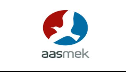 Aas Mek Logo PG Flow Solutions kunde