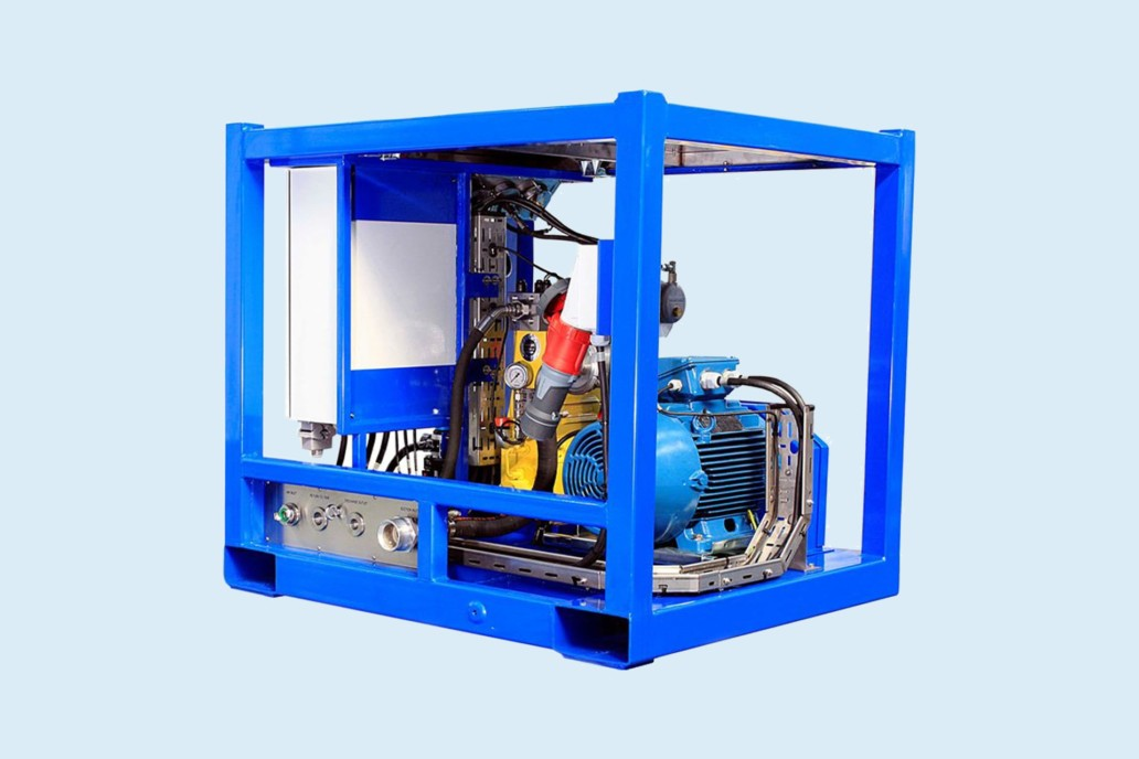 High pressure waterjet systems