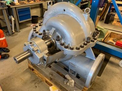 Extensive pump repair