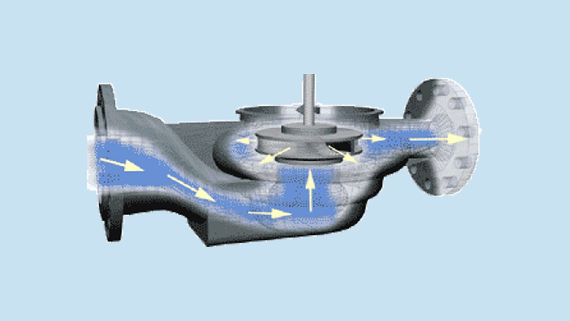 Simsite® structural composite pump internals