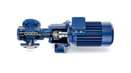 Three spindle screw pumps