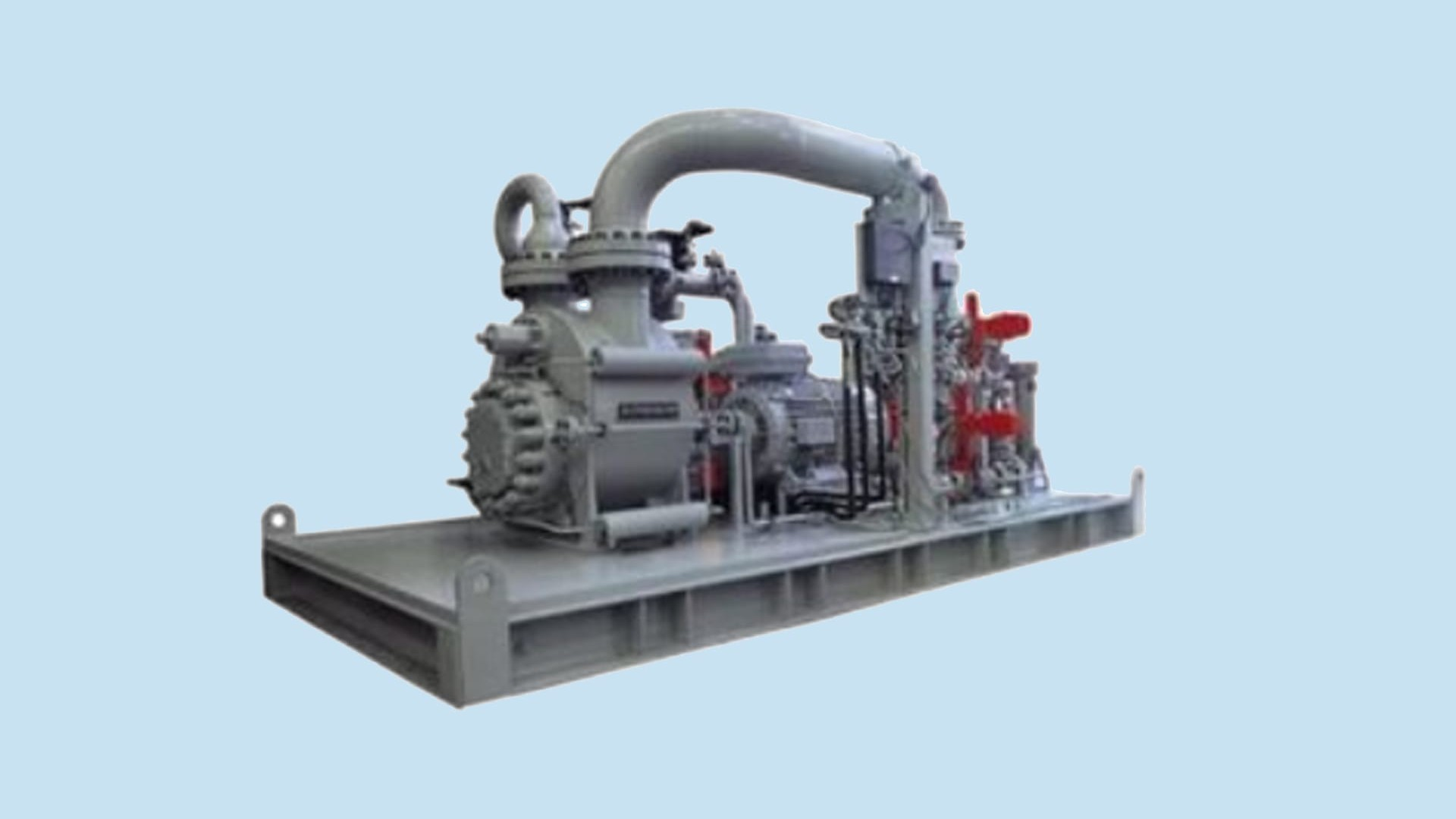 Twin-screw single and multiphase pumps