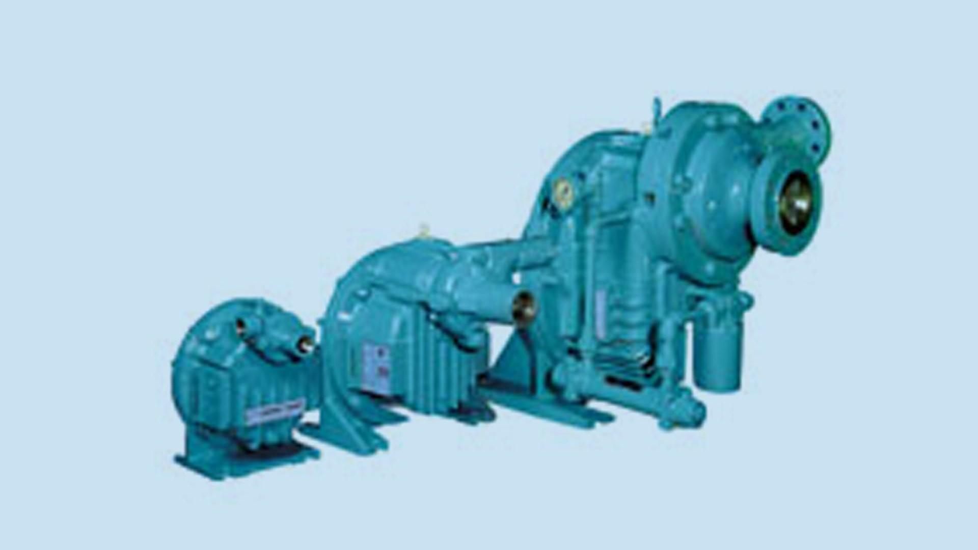 High pressure centrifugal pumps