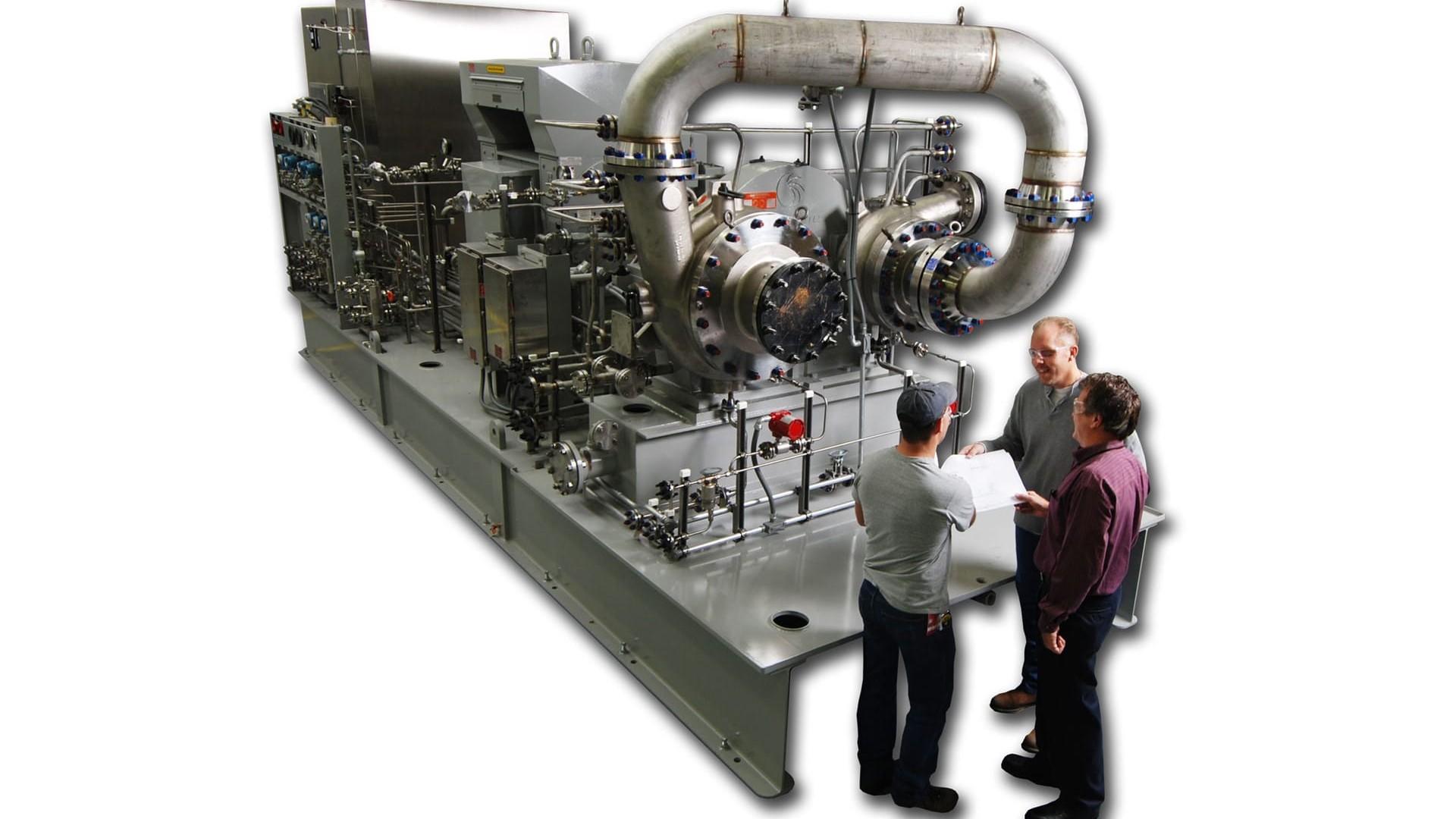 High-speed process compressors