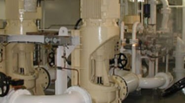 Marine execution centrifugal pumps